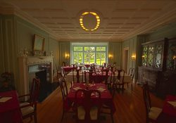 Idlwilde Inn dining room