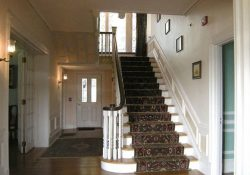 Entry hall with main staircase