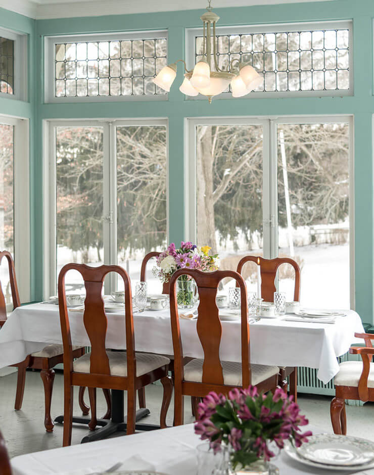 Watkins Glen Bed and Breakfast - Dining room
