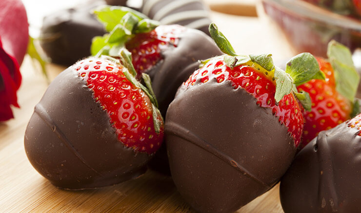 Watkins Glen Bed and Breakfast - Chocolate Dipped Strawberries