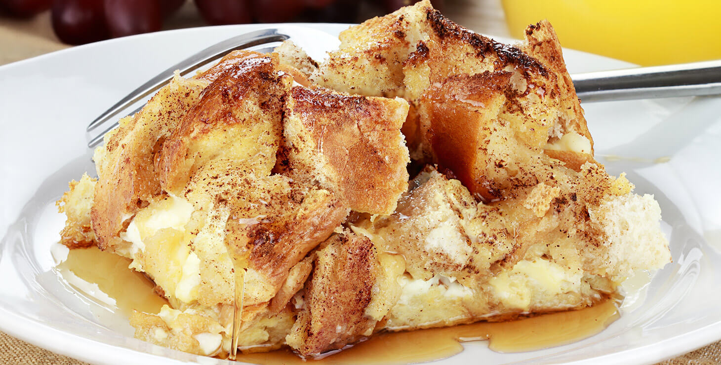 French toast casserole at our Finger Lakes B&B