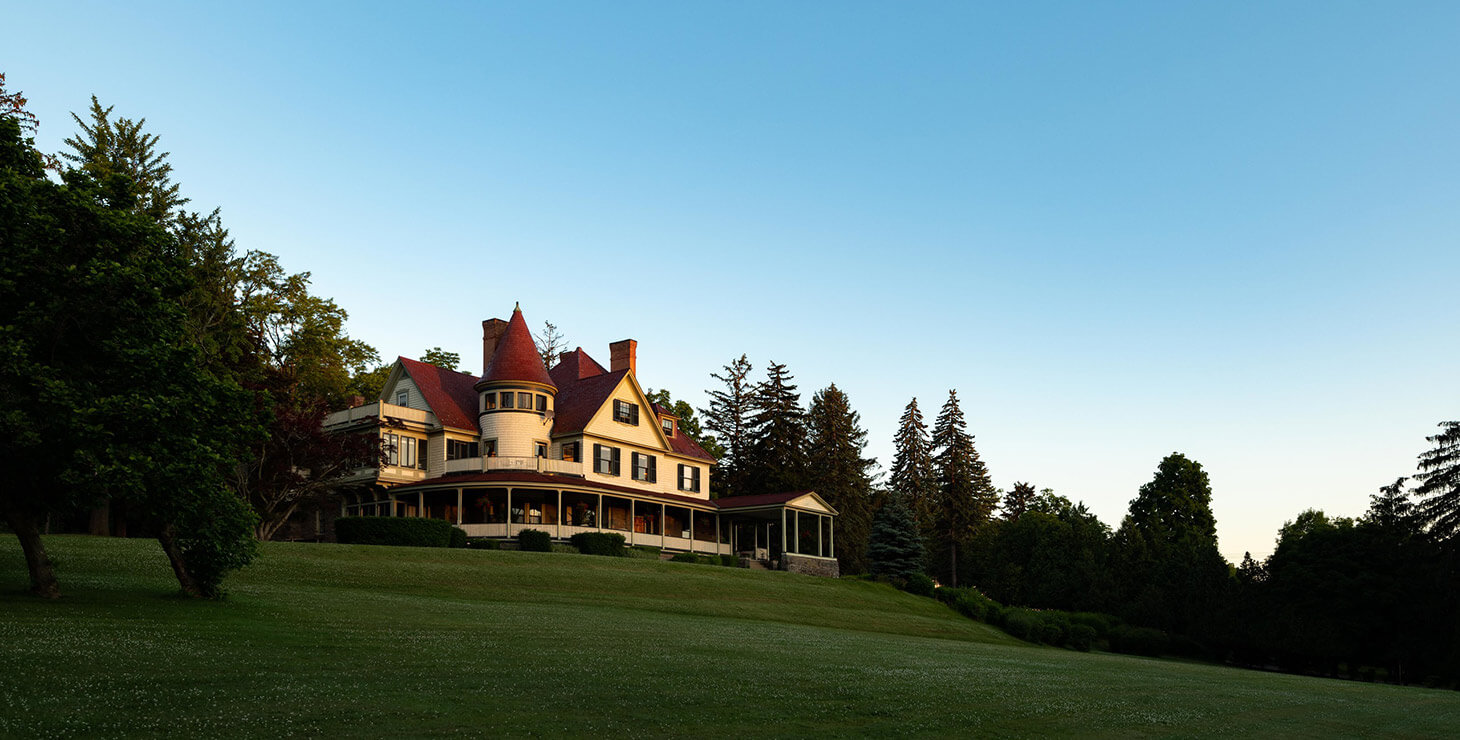 Exterior view of our Watkins Glen Bed and Breakfast