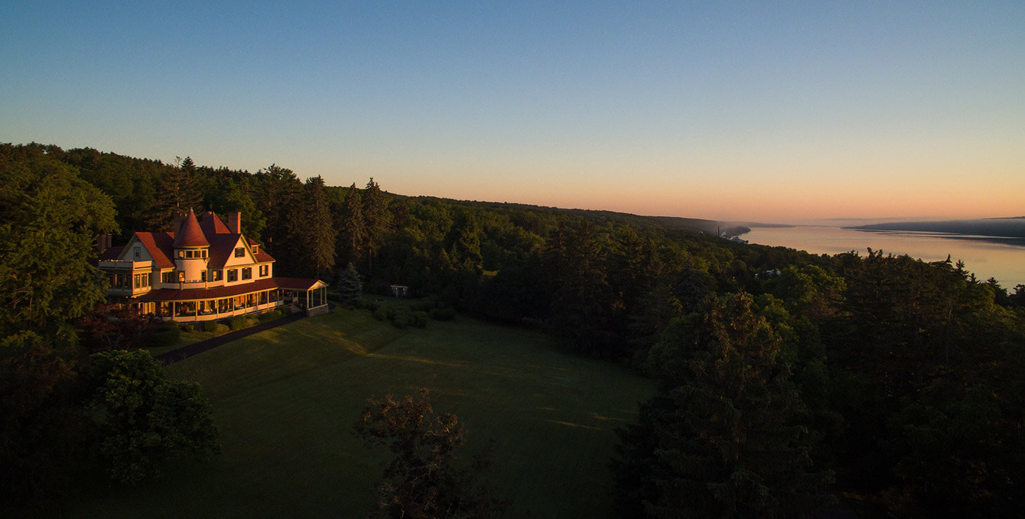 Places to stay in Watkins Glen, NY - exterior view from a drone