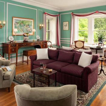 Watkins Glen B&B - living room