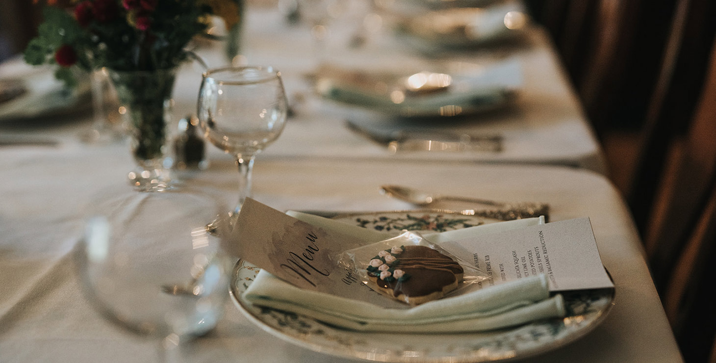 Finger Lakes Wedding Table Setting